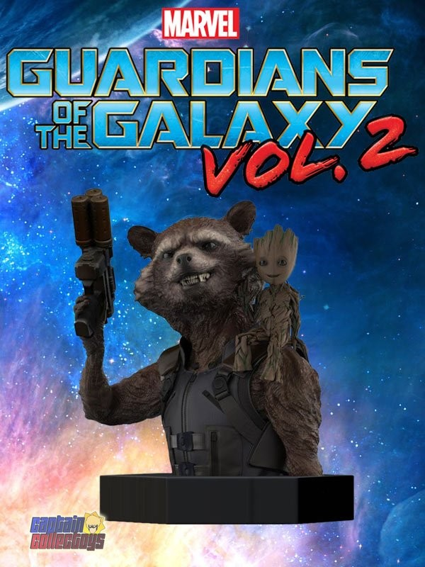 | Rocket & Groot - Borstbeeld (Guardians of the Galaxy Vol. 2)