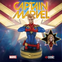 Captain Marvel - Borstbeeld