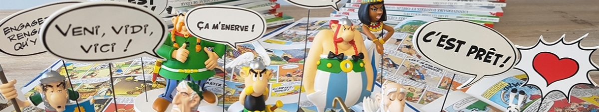 Asterix & Obelix Bubbles Collection
